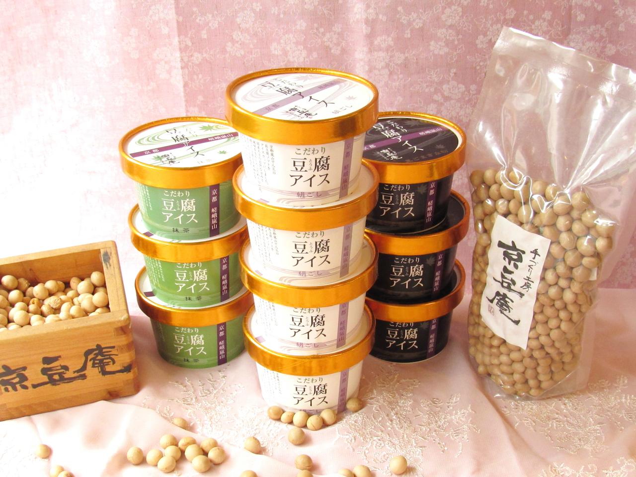 お豆腐アイス 宇治抹茶豆腐 (10個入り)